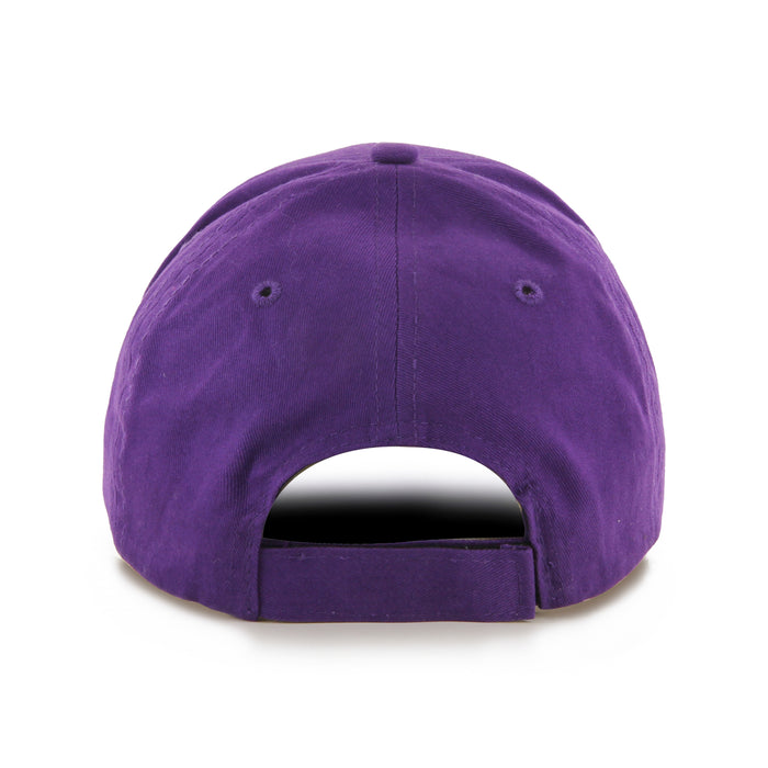LSU Tigers 47 Brand Vault Beanie MVP Structured Youth Hat  - Purple