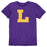 LSU Tigers Blue 84 Vault L T-Shirt - Purple