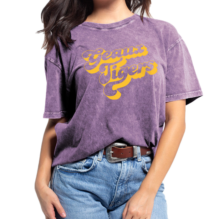 LSU Tigers Chicka-d Retro Geuax Tigers Everybody T-Shirt