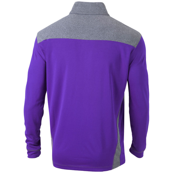 LSU Tigers Columbia Sportswear 2019 National Champions 1/4 Pullover - Purple