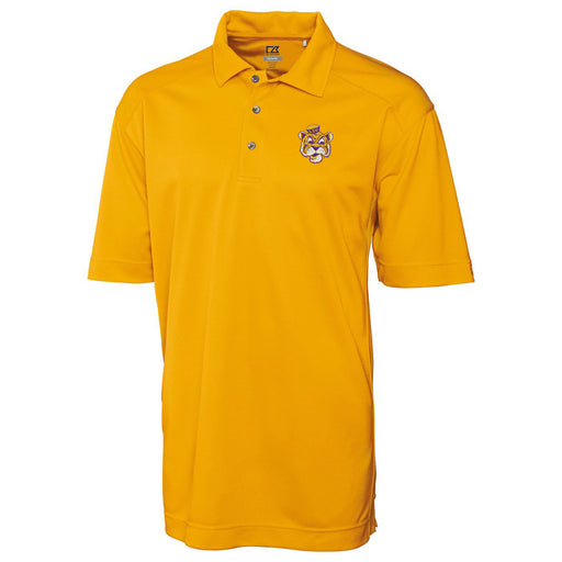 LSU Tigers Cutter & Buck Drytec Genre Beanie Tiger Polo - Gold