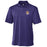 LSU Tigers Cutter & Buck Drytec Genre Beanie Tiger Polo - Purple