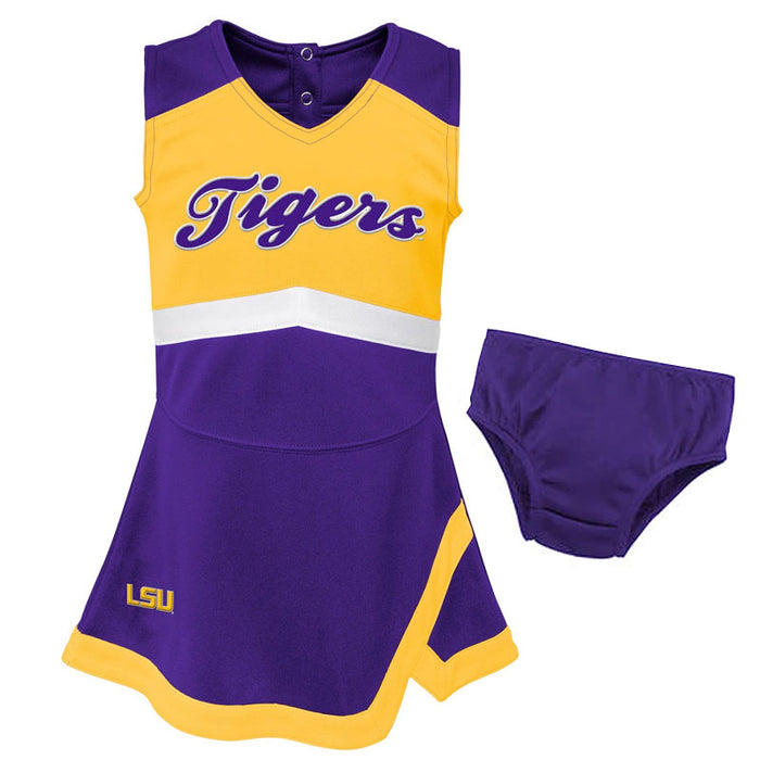 LSU Tigers Gen2 Kids Cheer Dress