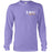 LSU Tigers Campus Waves Garment Dyed Long Sleeve T-Shirt - Violet