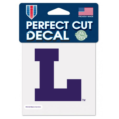 "LSU Tigers Vault L 4""x 4"" Die Cut Decal"