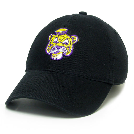 LSU Tigers Legacy Beanie Tiger Relaxed Twill Hat - Black