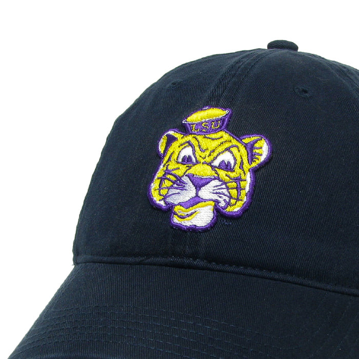 LSU Tigers Legacy Beanie Tiger Relaxed Twill Hat - Navy