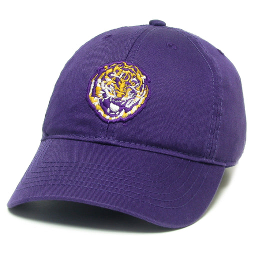 LSU Tigers Legacy Round Vault Relaxed Twill Hat - Purple