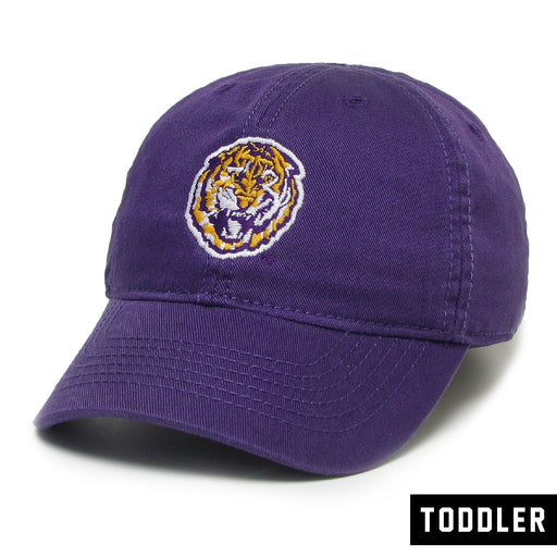 LSU Tigers Legacy Round Vault Relaxed Twill Toddler Hat - Purple