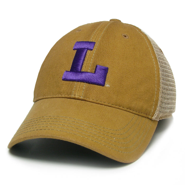 LSU Tigers Legacy Vault L OFA Trucker Hat - Yellow