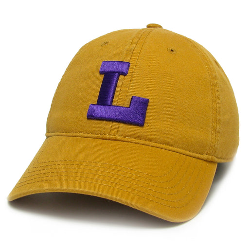 LSU Tigers Legacy Vault L Relaxed Twill Hat - Mustard