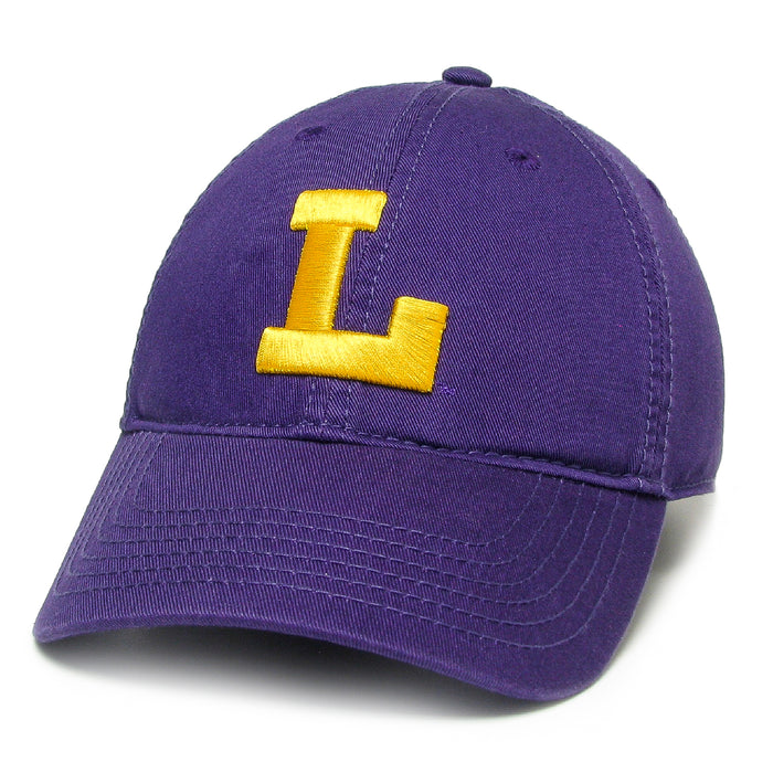 LSU Tigers Legacy Vault L Relaxed Twill Hat - Purple