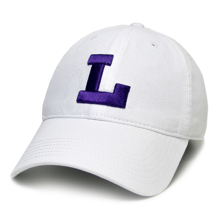 LSU Tigers Legacy Vault L Relaxed Twill Hat - White