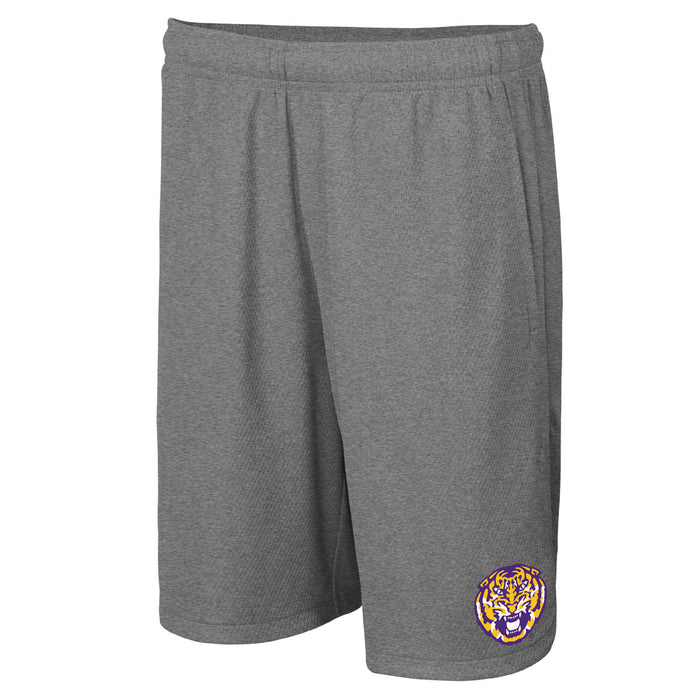 LSU Tigers Nike Youth Hype Shorts - Grey