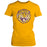 LSU Tigers Retro Brand Round Vault Women's T-Shirt - Gold