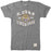 LSU Tigers Retro Brand Round Vault 1860 Tri-Blend T-Shirt - Grey