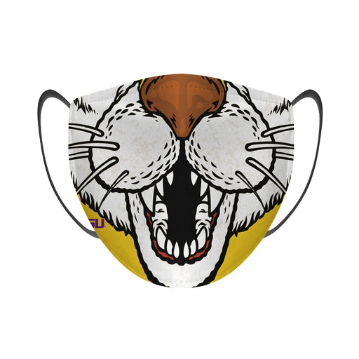 LSU Tigers Rock Em Resuable Adult Face Mask / Cover - Mike The Tiger