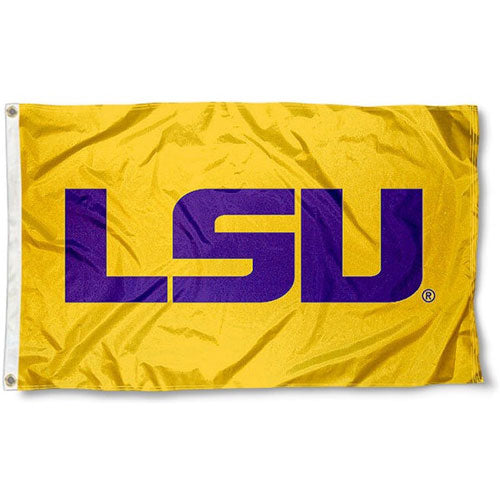 LSU Tigers Printed Official 3' x 5' Flag - Gold
