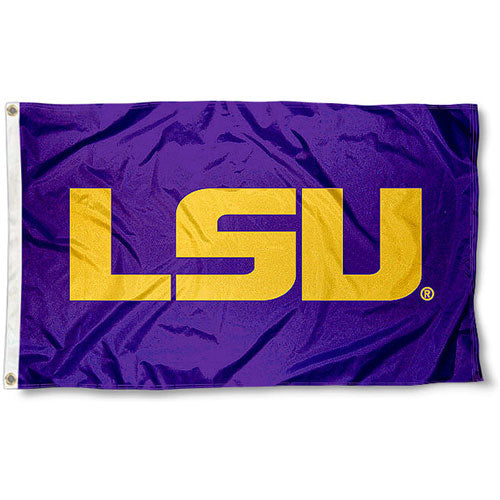 LSU Tigers Printed Official 3' x 5' Flag - Purple