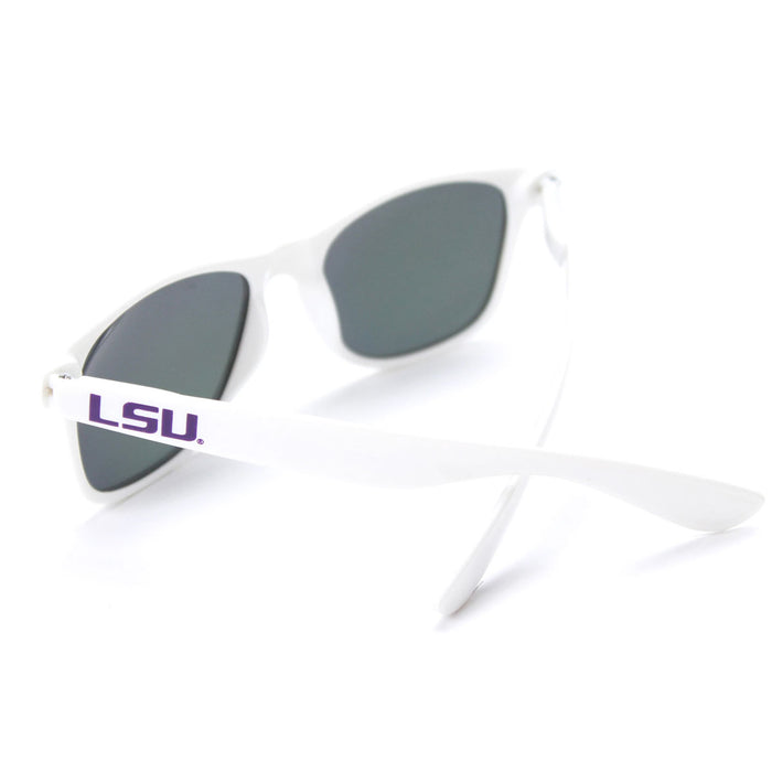 LSU Tigers Society 43 Wayfarer Sunglasses - White
