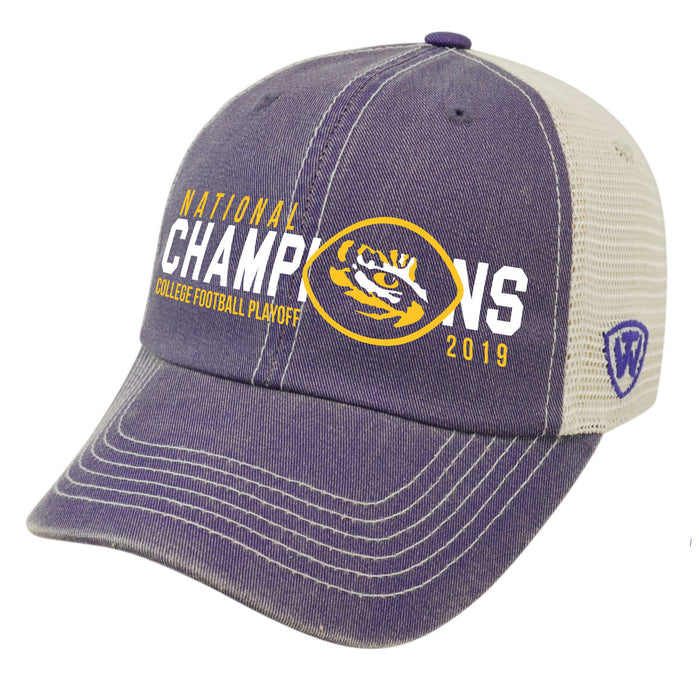 LSU Tigers Top Of The World 2019 National Champions Speed ...