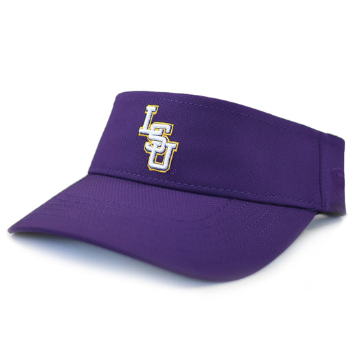 LSU Tigers Top Of The World Interlock TRN20 Performance Visor - Purple