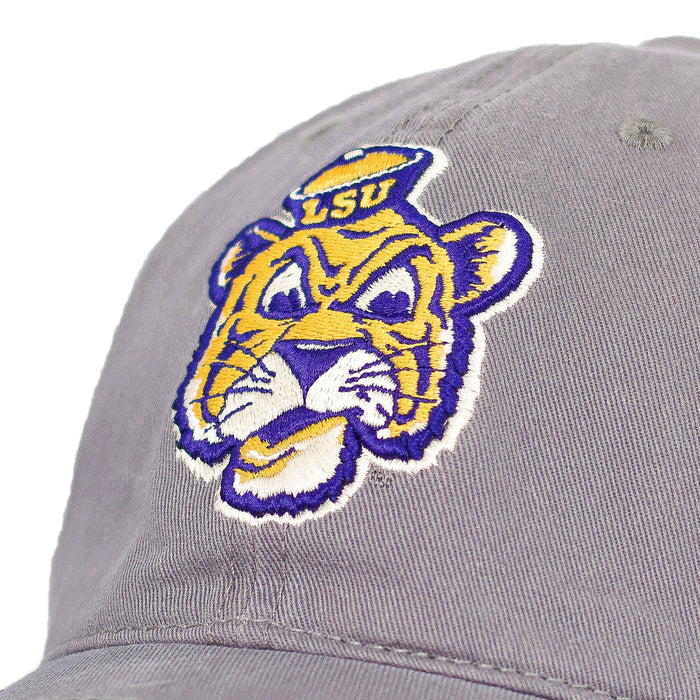 LSU Tigers Top Of The World Beanie Mike Marlee Adjustable Hat - Grey