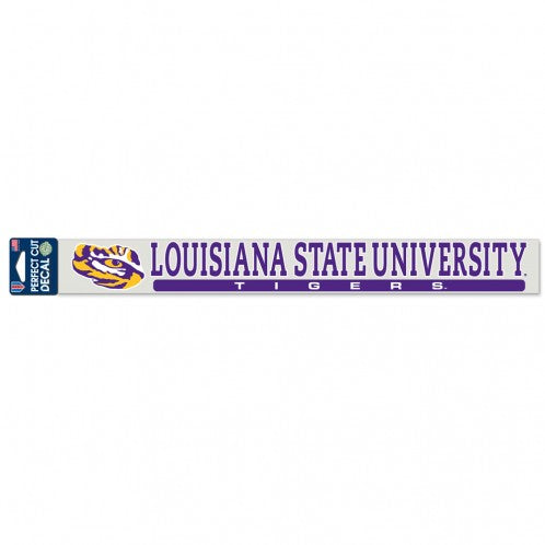 "LSU Tigers 2"" x 17"" Perfect Cut Decal"