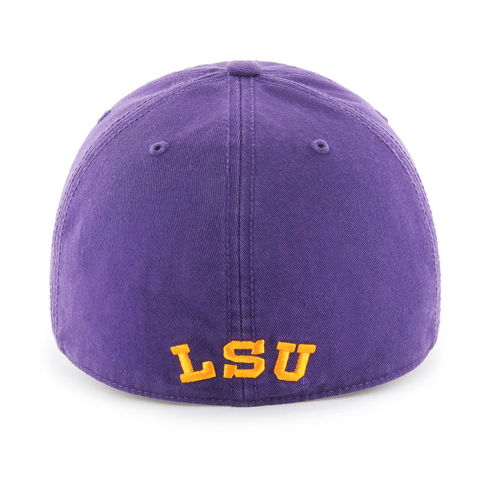 LSU Tigers 47 Brand Beanie Mike Franchise Fitted Hat - Purple