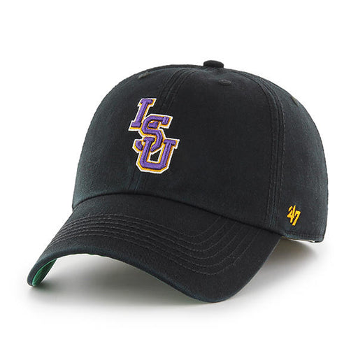 LSU Tigers 47 Brand Interlock Franchise Fitted Hat - Black