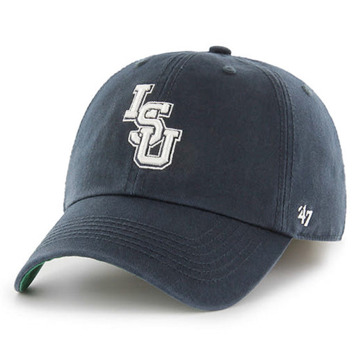 LSU Tigers 47 Brand White Interlock Franchise Fitted Hat - Navy
