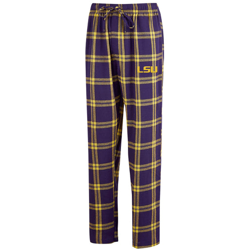 LSU Tigers Concepts Sport Home Stretch Flannel PJ Pants – Purple
