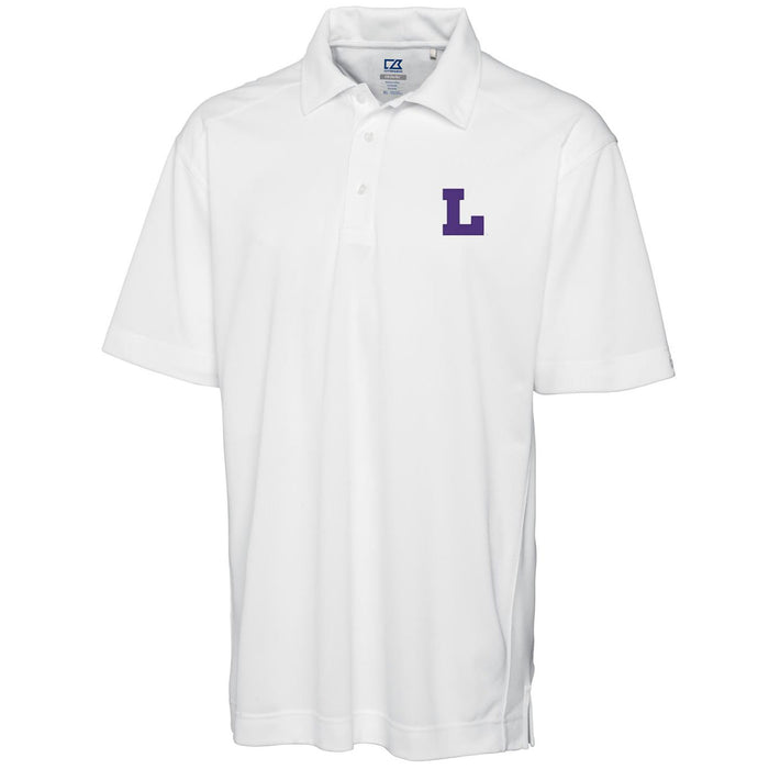 LSU Tigers Cutter & Buck Drytec Genre Vault L Polo - White