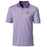 LSU Tigers Cutter & Buck Forge Stripe Beanie Tiger Polo - Purple