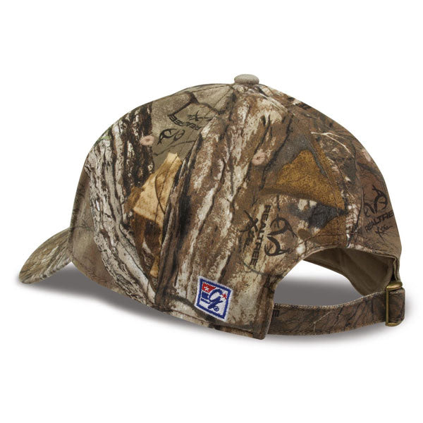LSU Tigers The Game Classic 3 Bar Adjustable Strap Hat - Camo