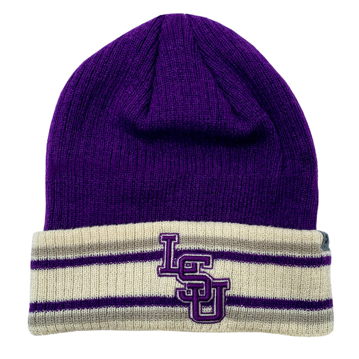 LSU Tigers Top Of The World Paramount Cuffed Knit - Purple