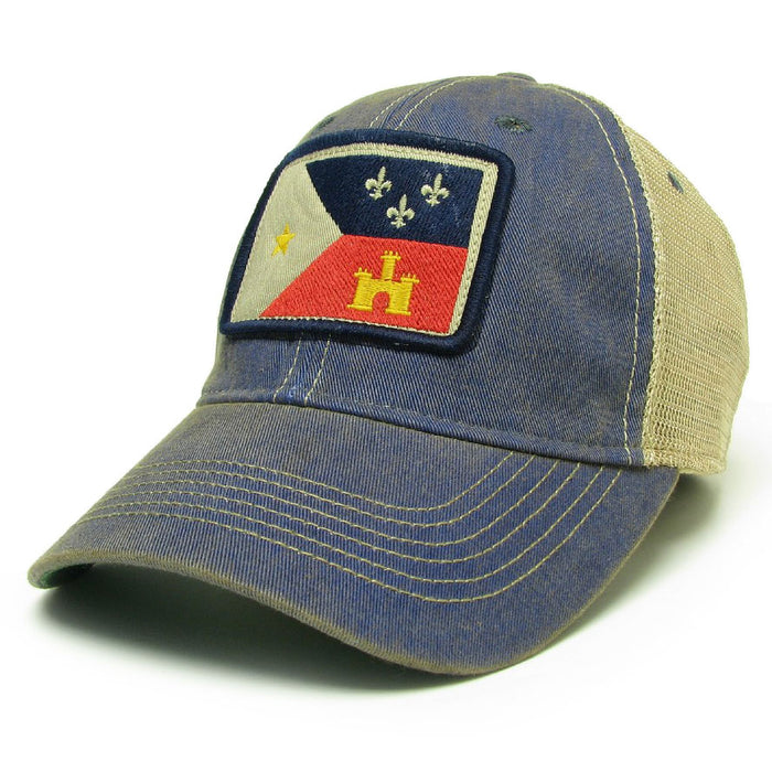 Homegrown Acadiana OFA Trucker Hat - Blue