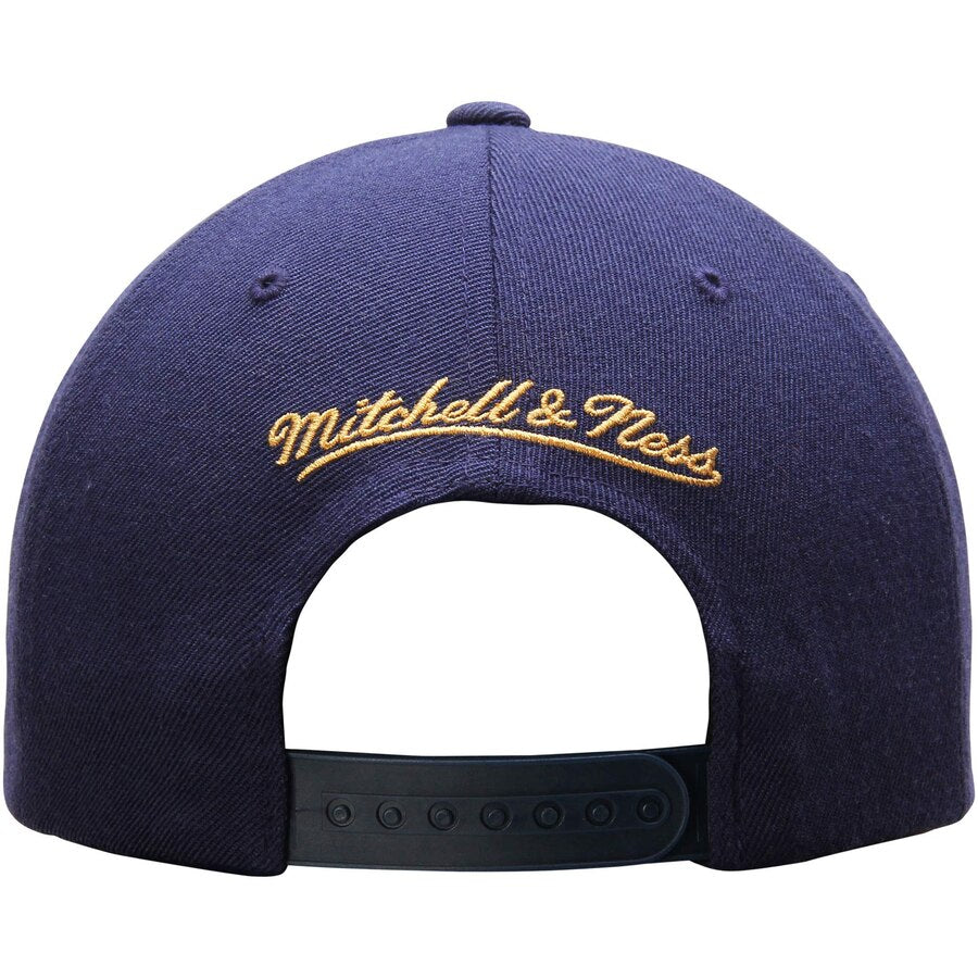 New Orleans Pelicans Mitchell Ness Snapback Hat Navy