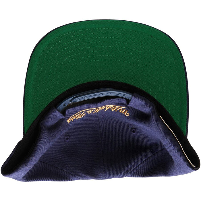 New Orleans Pelicans Mitchell & Ness Snapback Hat - Navy