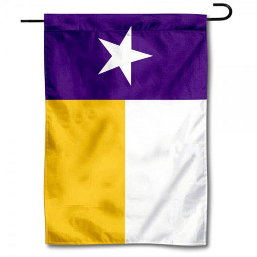 "Texas State Flag 13"" x 18"" Printed Garden Flag - Purple"