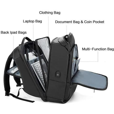 The Nomad Business Backpack Compartments For Gear