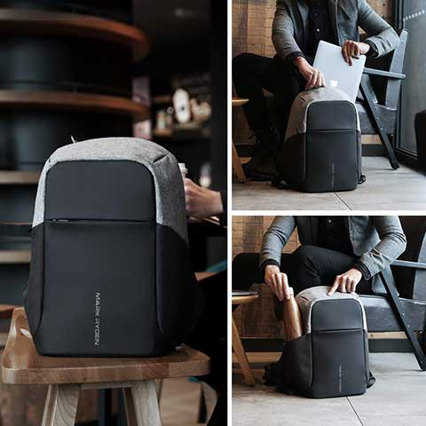 Anti-Theft USB Charging Backpack models