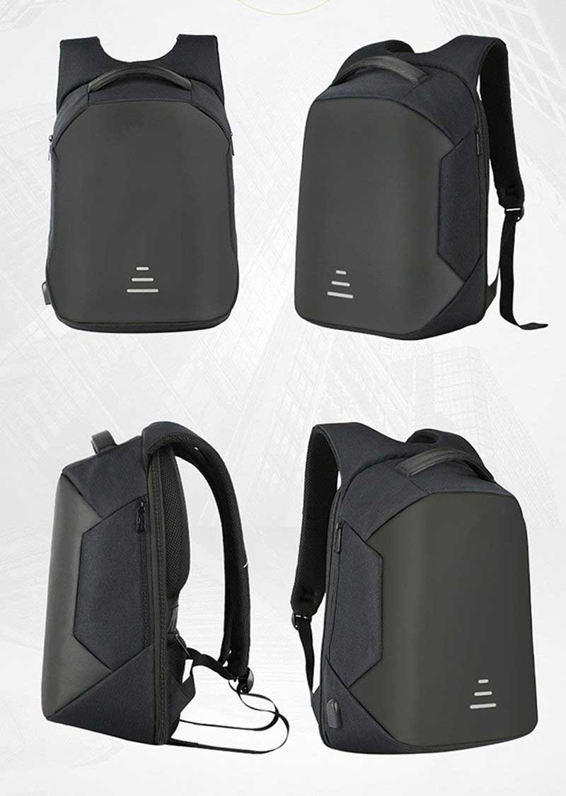 Anti Theft Laptop Backpack all angles