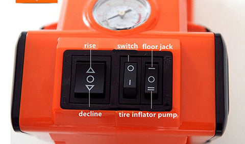 Electric Hydraulic Car Jack and Tire Inflator Pump button control functions.jpg