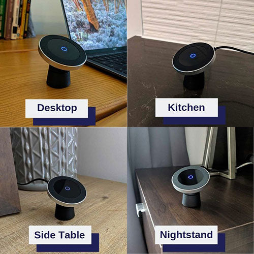 Magnet Mount Wireless Charger home usage