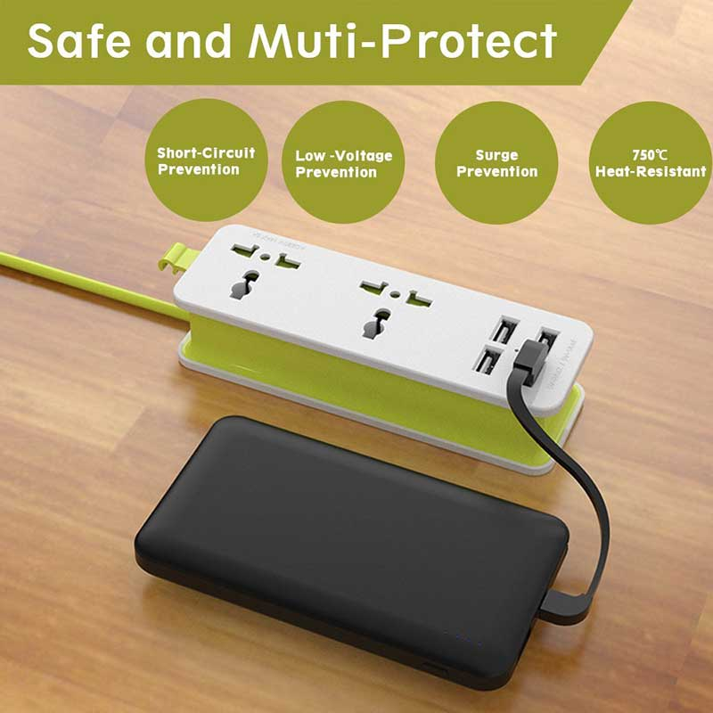 Portable-Power-Strip-And-Surge-Protector-safety