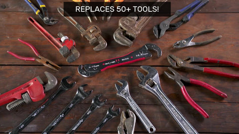 Universal Self-Adjustable Wrench replaces 50 tools or more