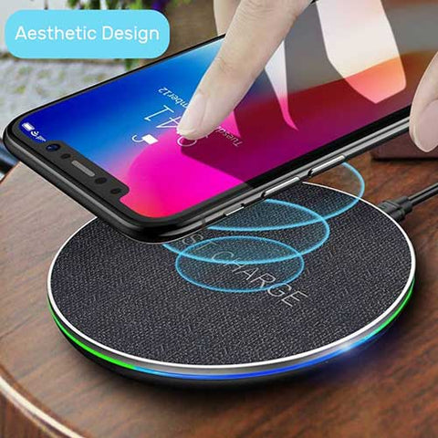 Fast Wireless Charging Pad Aesthetic Design