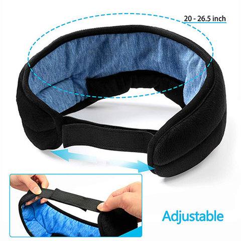 Wireless Sleep Headphones and Mask adjustable to suit your needs nifty drifter