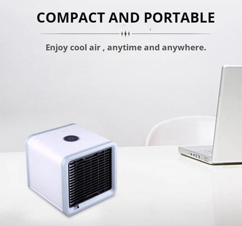 compact and Portable Air Conditioner - Evaporative Cooler